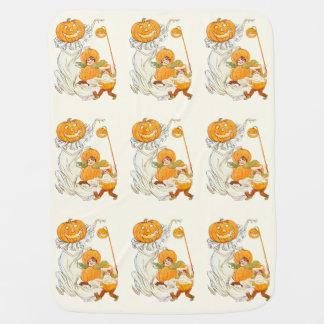 Kids Halloween Pumpkin Costume Party Baby Blankets