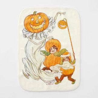 Kids Halloween Pumpkin Costume Party Burp Cloths