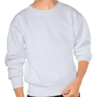Kids Sweatshirt With Santa Face Holiday Tee