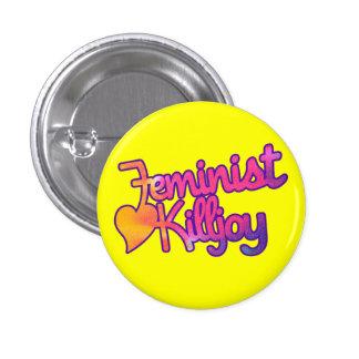 Killjoy feminista boton