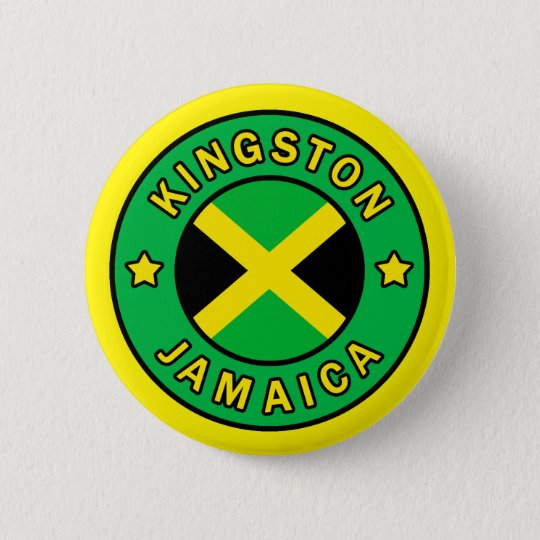 Kingston Jamaica Bóton Redondo 5.08cm
