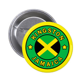 Kingston Jamaica Bóton Redondo 5.08cm