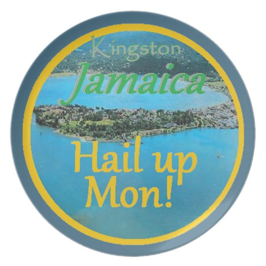 KINGSTON Jamaica Louça De Jantar