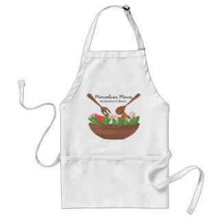 kitche de abastecimento do t-shirt dos vegetais de avental