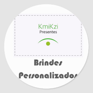 KmiKzi Brindes e Presentes Personalizados Adesivo