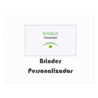 KmiKzi Brindes e Presentes Personalizados Cartao Postal
