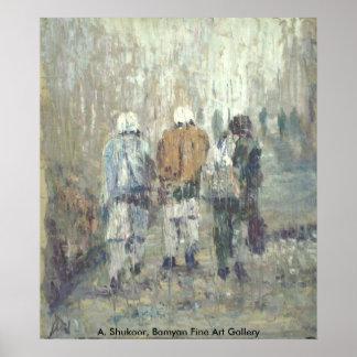 Koche-de-Afeganistão Poster