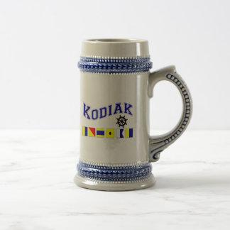 Kodiak, Alaska Caneca De Cerveja
