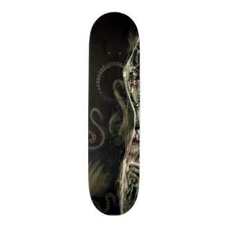 Kraken sob a água shape de skate 19,7cm