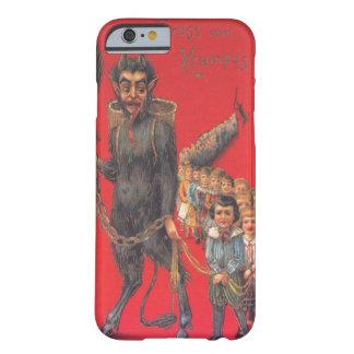 Krampus com crianças más capa barely there para iPhone 6
