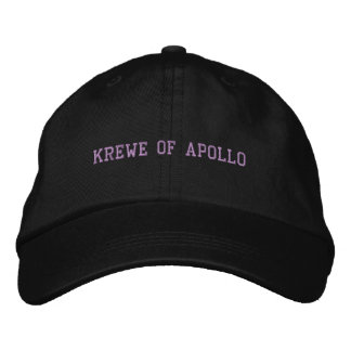 Krewe do preto do boné de Apollo
