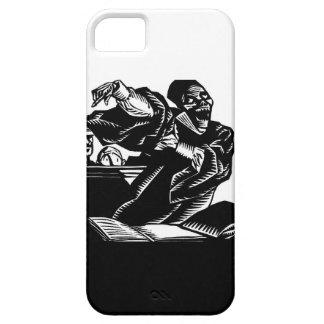 L caso do iphone 5 da arte da morte do vintage da  capa iPhone 5 Case-Mate