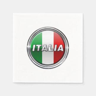 La Bandiera - a bandeira italiana Guardanapo De Papel