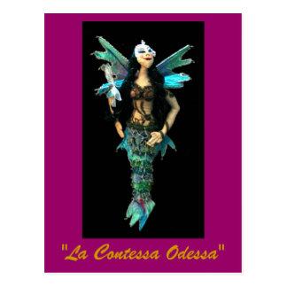 """""""La Contessa Odessa """" Cartão Postal"""