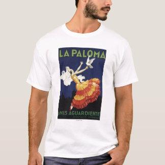 La Paloma - promocional de Aguardiente dos Anis Tshirt