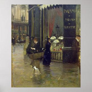 La Parfumerie Viollet, DES Capucines do bulevar Poster