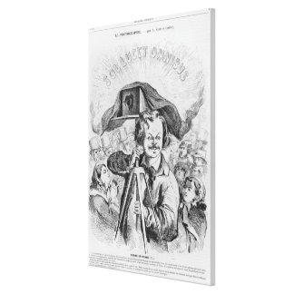"""""""La Photographie, Nadar (1820-1910) le grande (!!! Impressão Em Tela Canvas"""