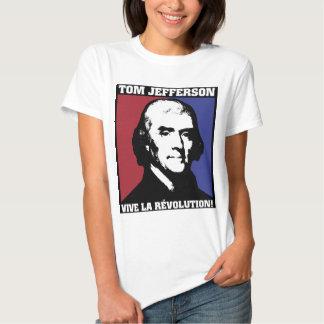 La Révolution de Jefferson Vive! Camisetas