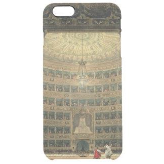 La Scala, Milão, durante um desempenho Capa Para iPhone 6 Plus Transparente