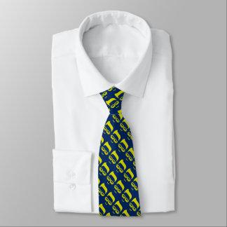 Laço da cara da página do geek gravata