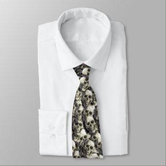 Laço da pilha do crânio gravata