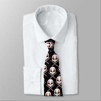 Laço do metal da morte do rock and roll gravata