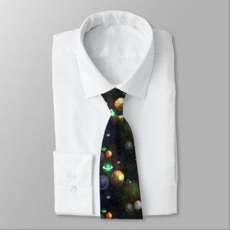 Laço do sistema solar gravata