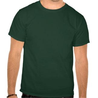 Laço do trevo de Chevron do Dia de São Patrício do Camisetas