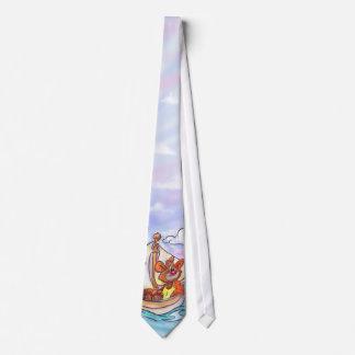 Laço do urso dos desenhos animados gravata