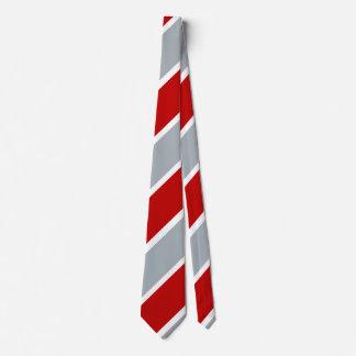 Laço regimental da listra do guerreiro medieval gravata