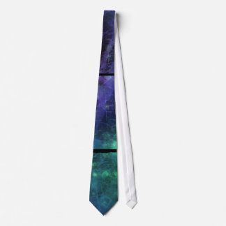 Laço Textured Sparkling azul, verde, roxo do olhar Gravata