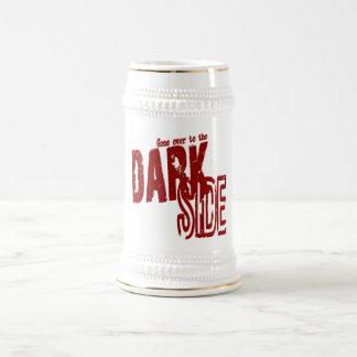 Lado escuro - caneca de cerveja