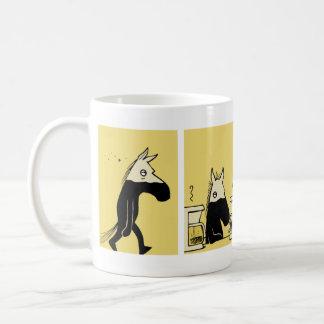 Lado escuro da caneca de café #1 do cavalo