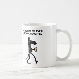 Lado escuro da caneca de café #2 do cavalo