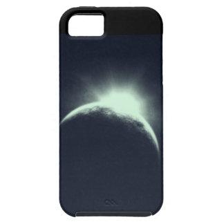 Lado escuro da capa de telefone esperta da lua