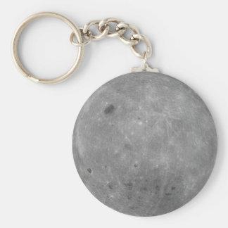 Lado escuro da corrente chave da lua chaveiro