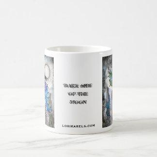 Lado escuro da fada da lua caneca de café