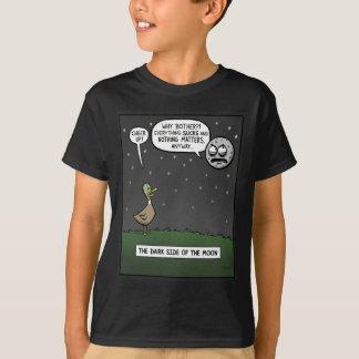 Lado escuro da lua camiseta