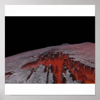 Lado escuro da lua poster