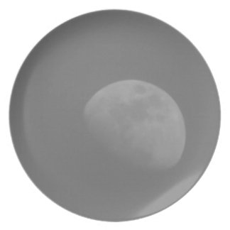 Lado escuro da lua prato de festa