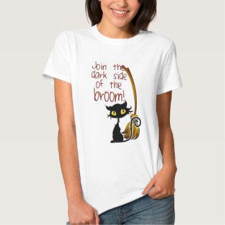 Lado escuro da vassoura camiseta