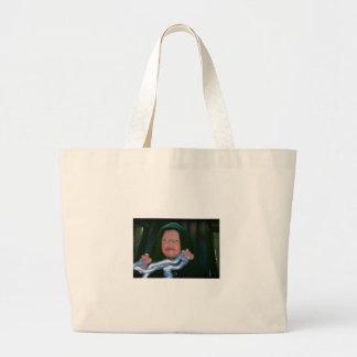 Lado escuro do bebê bolsas para compras