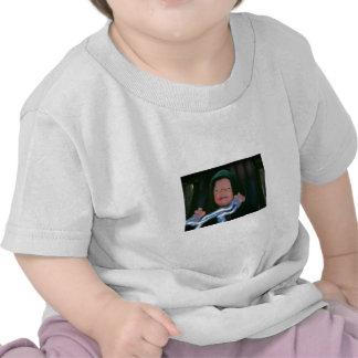 Lado escuro do bebê camiseta