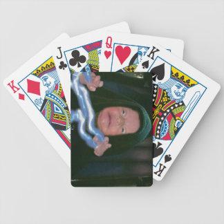 Lado escuro do bebê carta de baralho