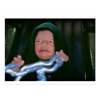 Lado escuro do bebê cartões postais