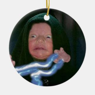 Lado escuro do bebê ornamento para arvores de natal