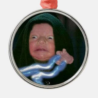 Lado escuro do bebê ornamentos