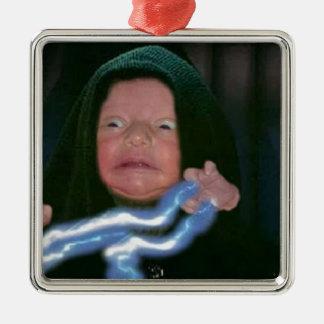 Lado escuro do bebê ornamento