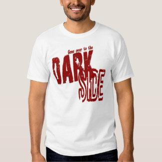 Lado escuro - EDUN VIVEM padrão unisex da génese Tshirts