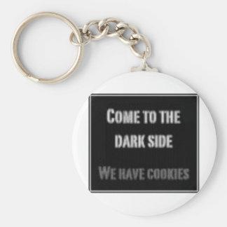 Lado escuro chaveiro